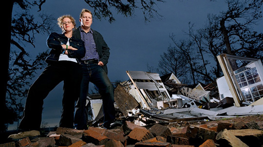 Kate Stohr and Cameron Sinclair, Co-founders of Architecture for Humanity.